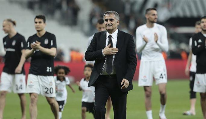 Şenol Güneş Beşiktaş'a veda etti