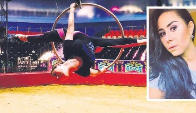 Sirk çadırında facia 12 metreden yere çakıldı öldü