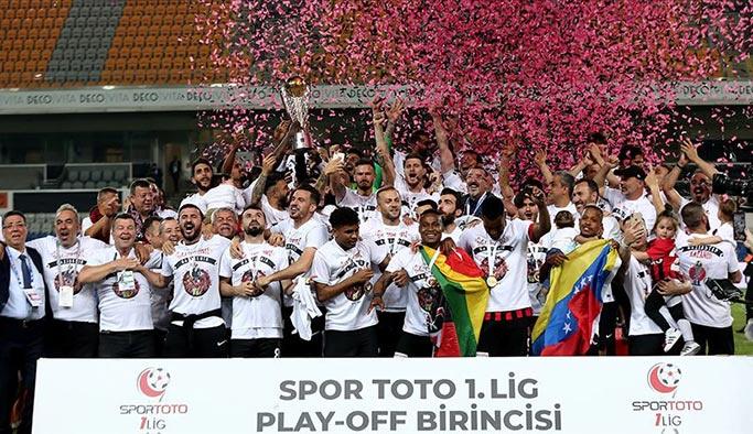 Süper Lig'e çıkan son takım da belli oldu