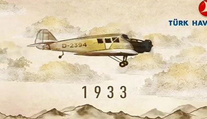 THY 86 yıl önce bugün 5 uçak 25 koltukla işe başladı