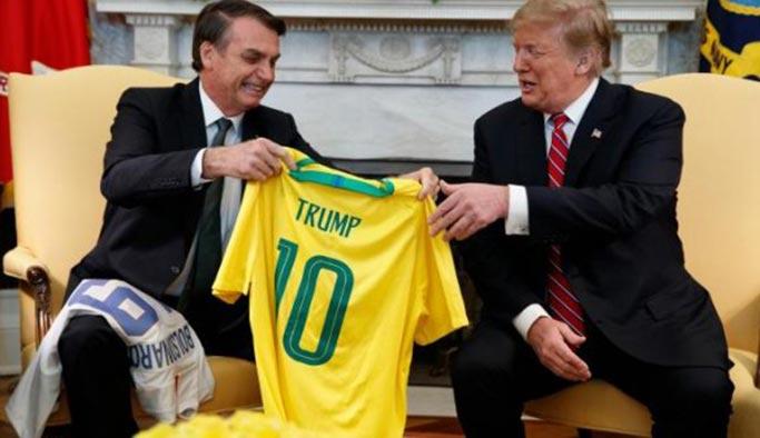 ABD, Brezilya'yı 'ana müttefik' ilan etti