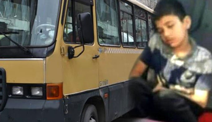 Üzeri kirli diye çocuğu yerde oturtan şoföre cezası verildi