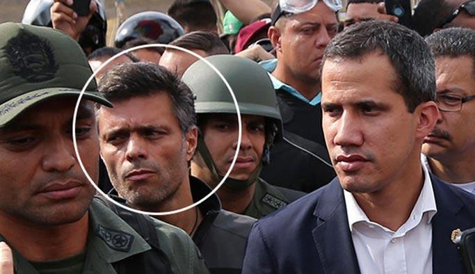 Venezuela'da son durum: Muhalif lider Lopez kaçtı