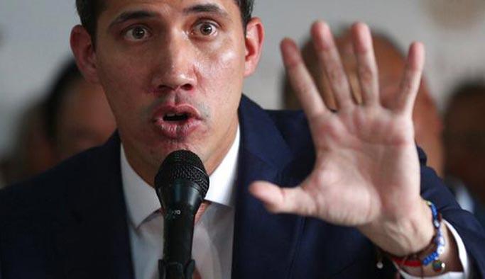 Venezuela'daki darbeci muhalefet ABD ordusundan destek istedi
