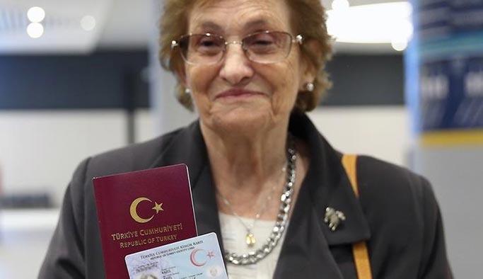 Yahudi Türk vatandaşı Raşel 69 yıl sonra Türkiye'ye döndü