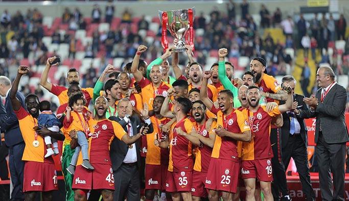 Ziraat Türkiye Kupası Galatasaray'ın oldu