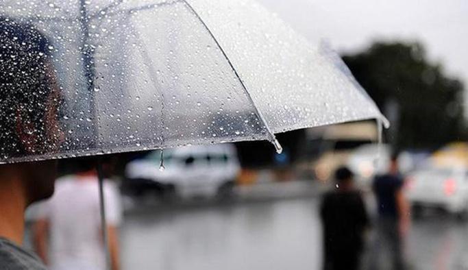 11 Haziran hava durumu - Meteoroloji'den sağanak uyarısı
