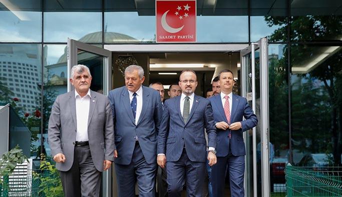 AK Parti'den Saadet Partisi'ne ziyaret