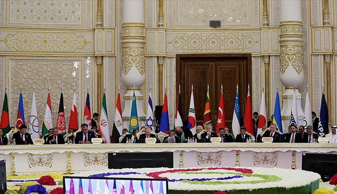 Asya ülkeleri Tacikistan'da bir araya geldi