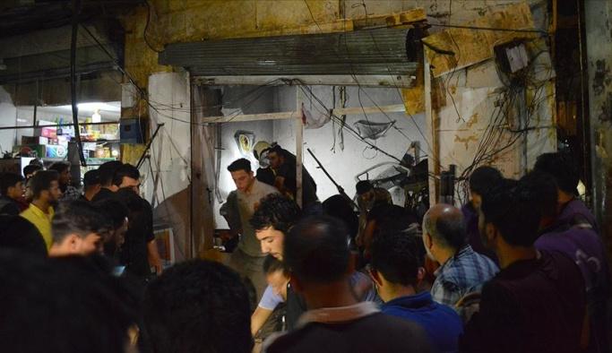 Azez'de bombalı saldırı, yaralılar Türkiye'ye getirildi