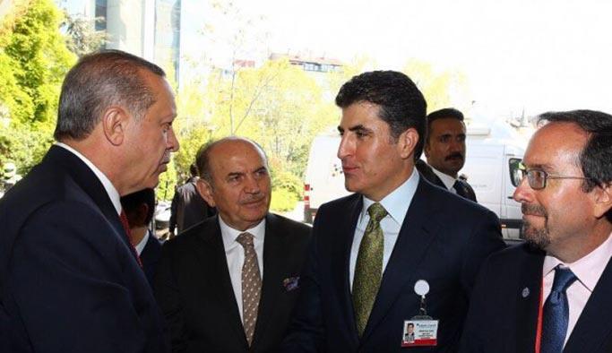 Barzani, Erdoğan ile görüşmek için İstanbul'da