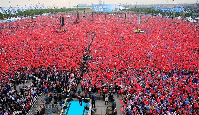 Cumhurbaşkanı Erdoğan İstanbul'da meydanlara iniyor