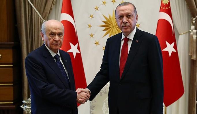 Ankara'da kritik görüşme: Erdoğan, Bahçeli ile görüştü