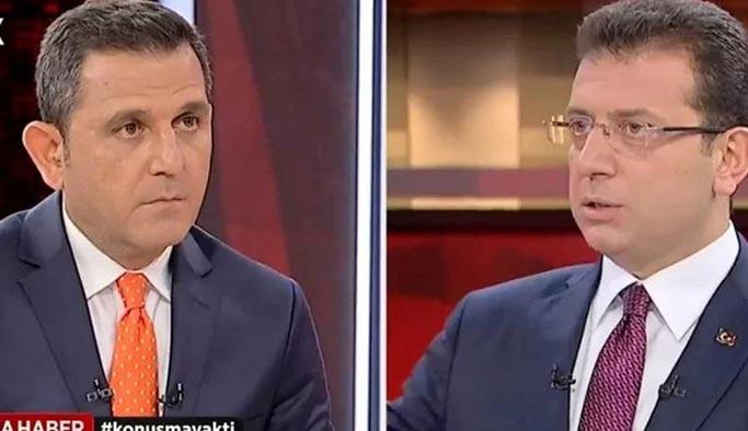 Fatih Portakal, Ekrem İmamoğlu'nu yalanladı