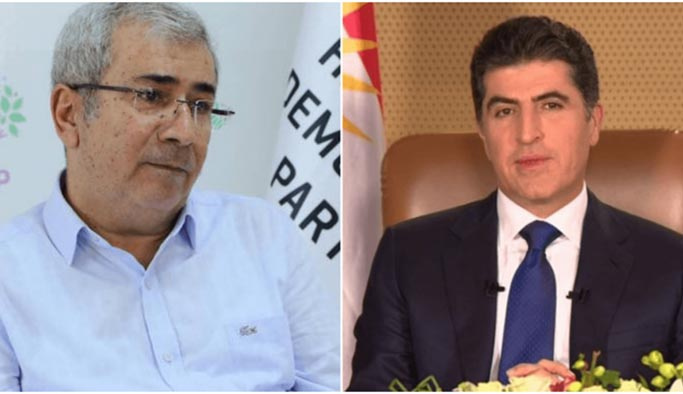 HDP'den Barzani'ye tehdit