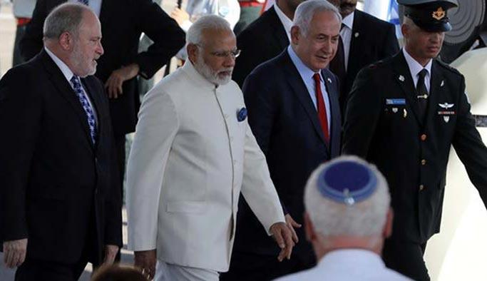 "Hindistan'dan İsrail'e ""siparişleri iptal"" şoku"