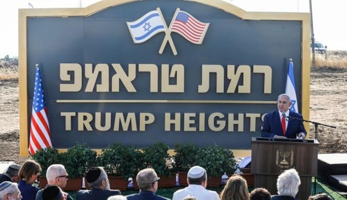 İsrail'den Golan Tepeleri'nde 'Trump' hamlesi
