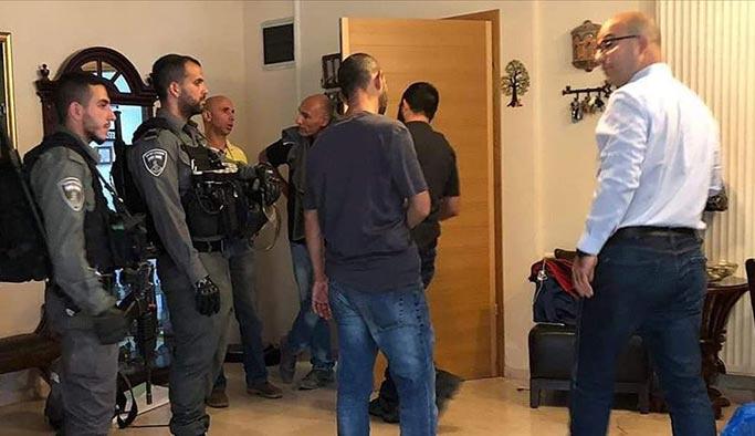 İsrail, Filistin'in Kudüs sorumlusu bakanı gözaltına aldı