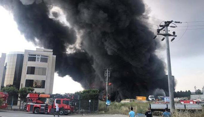 Kocaeli'deki fabrika yangınından acı haber