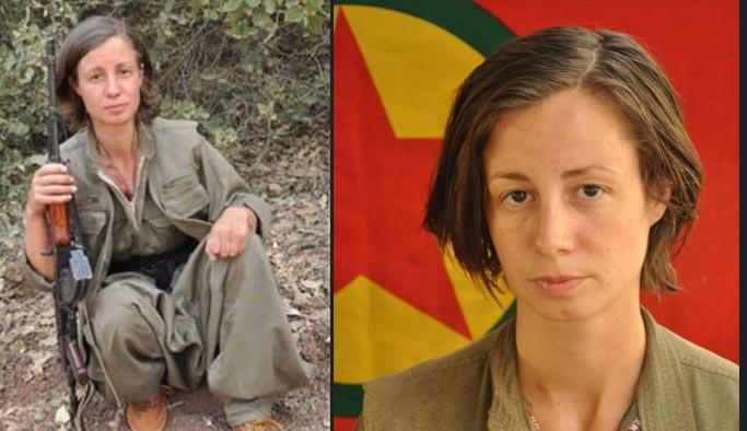 Öldürülen kadın PKK'lı Alman çıktı