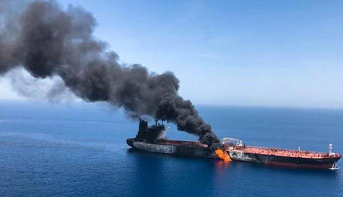 'Patlayan tankerler'le ilgili İran'dan açıklama