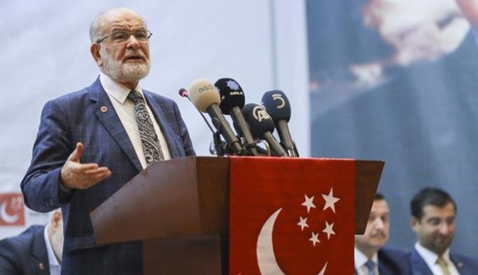 """Saadet Partisi lideri Karamollaoğlu'ndan """"aday çekme"""" açıklaması"""