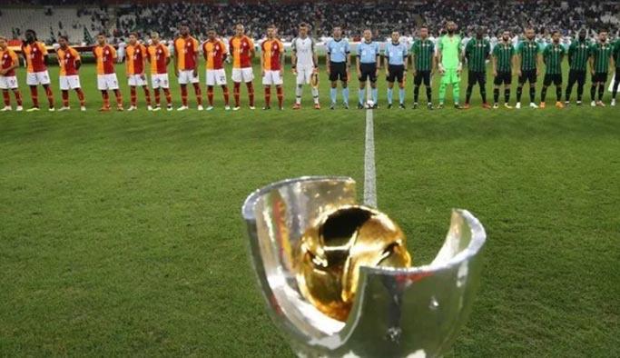 Süper Kupa maçının yer, tarih ve saati belli oldu