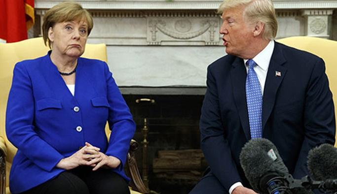 Trump'tan Almanya'ya yaptırım tehdidi