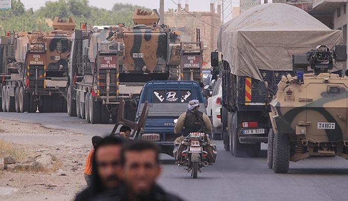 Türkiye'den İdlib'deki gözlem noktalarına takviye
