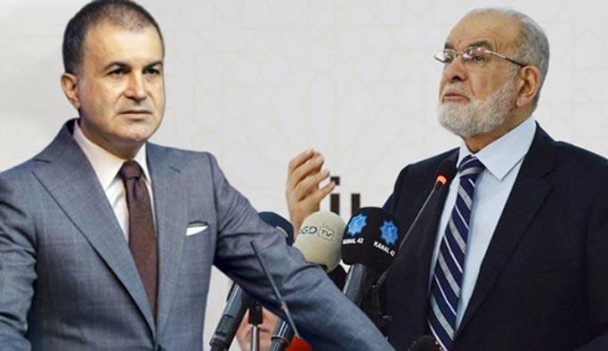 AK Parti için 'darbenin siyasi ayağı' diyen Karamollaoğlu'na sert tepki