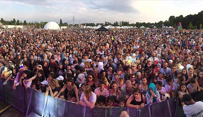 Almanya'daki Türk festivaline yoğun ilgi