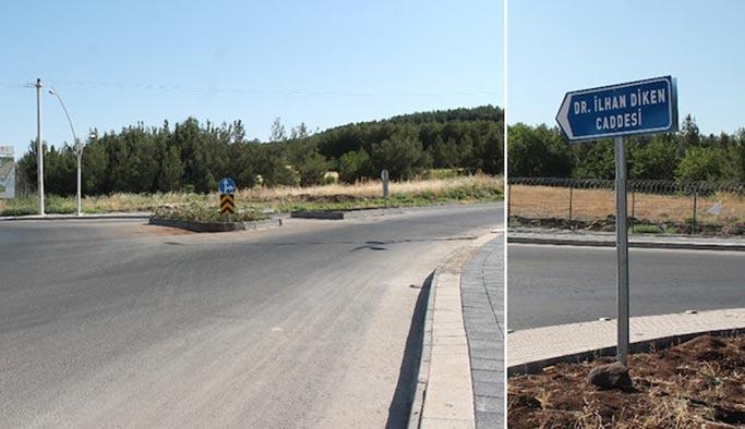 Belediye PKK'lı tabelasını dikti, valilik söktü