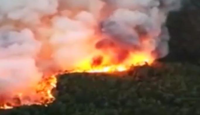 Dalaman'da büyük yangın, köyler boşaltılıyor
