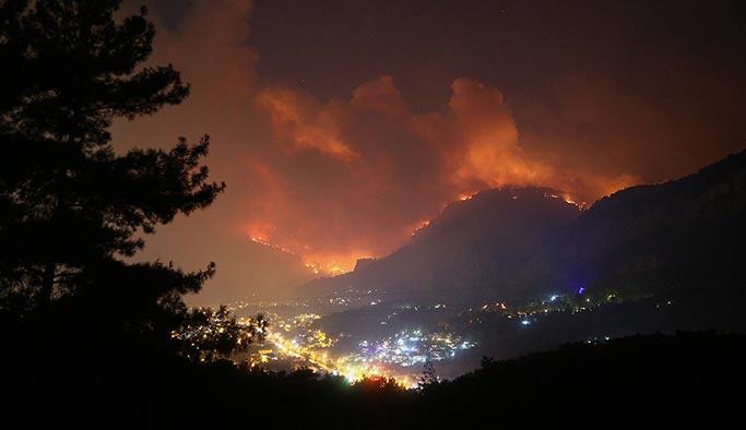 Dalaman'daki yangında son durum: Kontrol altına alınıyor