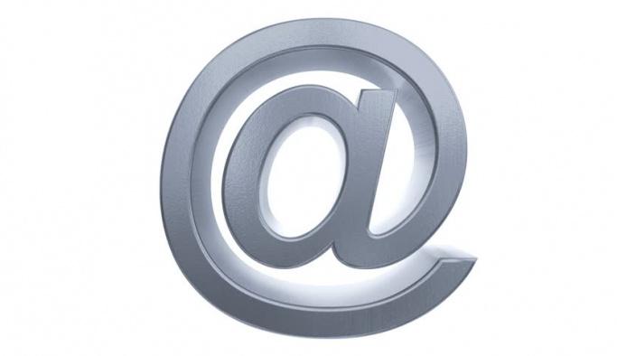 E-posta adreslerindeki @ işareti ne anlama geliyor?