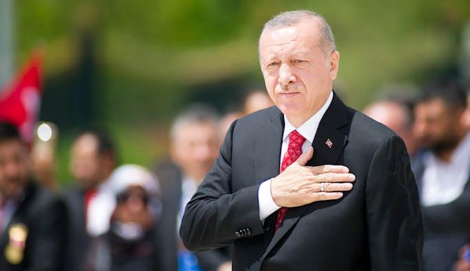 Erdoğan'dan KKTC mesajı