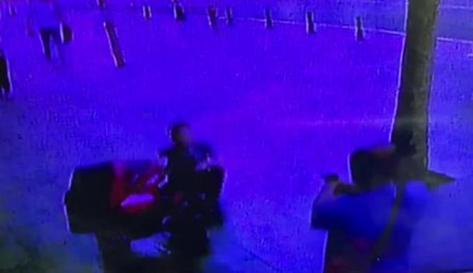 Damada eşi ve bebeğinin önünde infaz