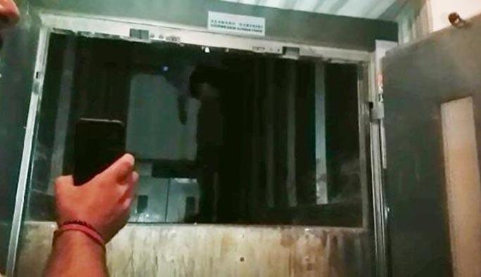 Feci ölüm: Asansöre adımını atar atmaz olanlar oldu