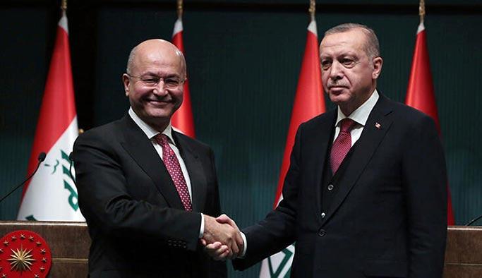 Irak Cumhurbaşkanı Salih, Cumhurbaşkanı Erdoğan'ı aradı