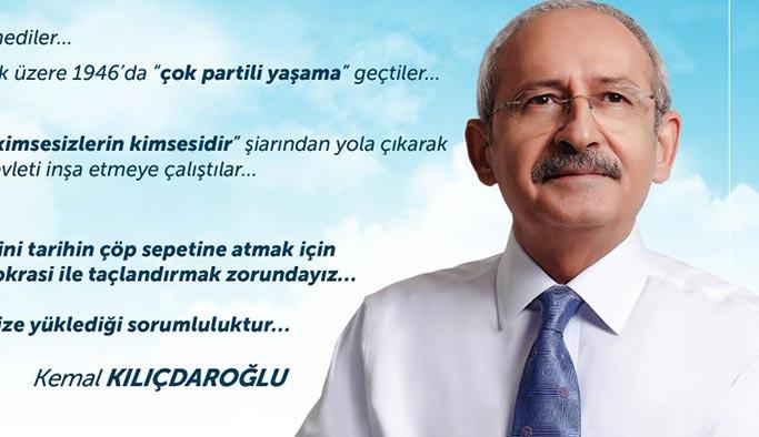 Kılıçdaroğlu'dan 'FETÖ'süz, şehitsiz, kınamasız' 15 Temmuz mesajı