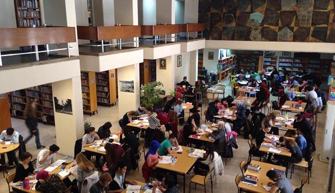 Kütüphane kullanımında Diyarbakır ilk beşte