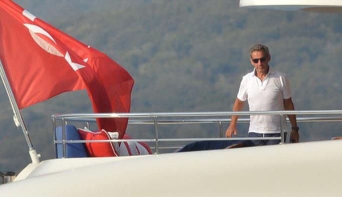Sarkozy de tatil için Türkiye'yi tercih etti