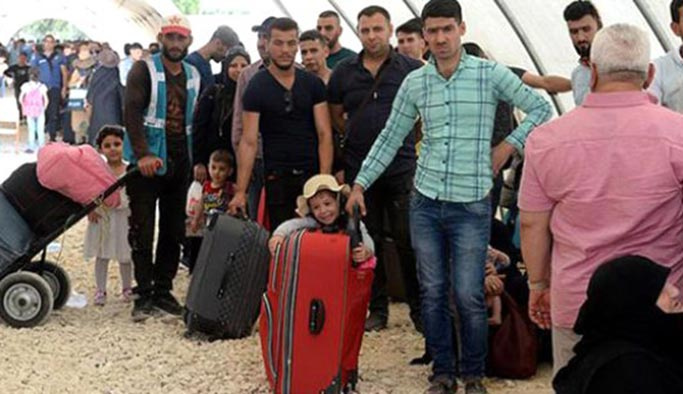 Suriyeli misafirlerimiz gidiyor, ilk kafile gönderildi