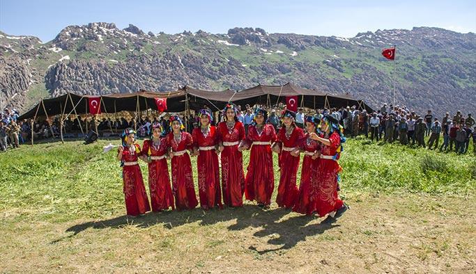 Şırnak dağlarında şenlik zamanı