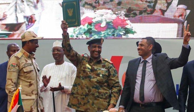 Sudan'da uzlaşma sağlandı, bildiri imzalandı