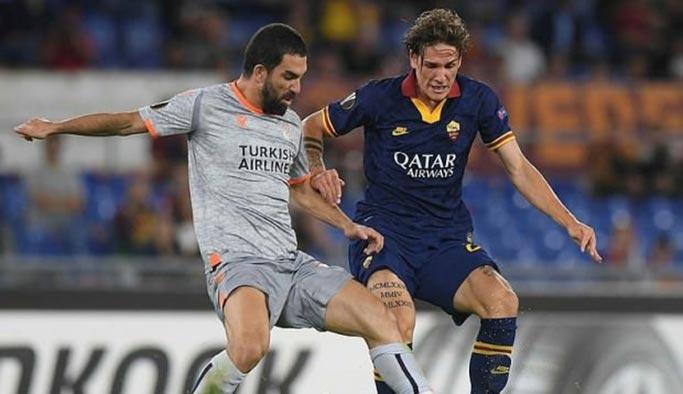 Başakşehir, Roma'da 4-0 yenildi