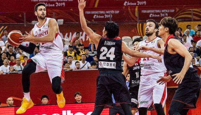 Basketbol Milli Takımı dünya kupasına zaferle başladı