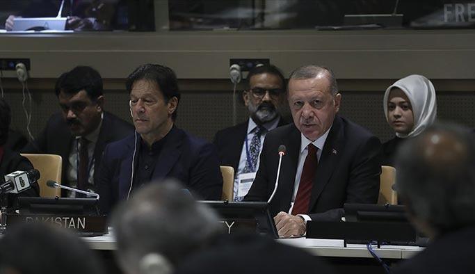 Erdoğan: Hindistan'da inek eti yedi diye Müslümanlara palalarla saldırıyorlar