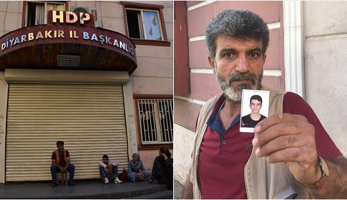 HDP'nin kapısına dayana baba: Ya oğlum ya ölüm