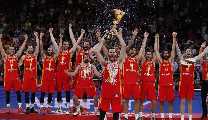 İspanya ikinci kez dünya şampiyonu